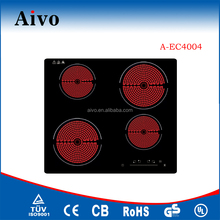 AIVO kitchen appliances 4 burners multifunction ceramic cookers
