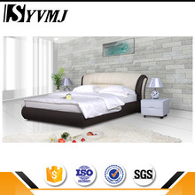2016 New design leisure bonded leather bed with best quality and low price