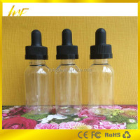 promotion products 30ml dropper bottle with child proof cap and slim drip tip 30 ml PET plastic bottles from China