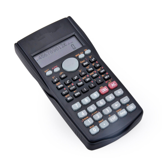Calculator Wholesale 240 Functions 10 Digit Scientific Calculator with 2 Line Display