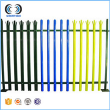 Euro Style Free Standing Metal Palisade Fence / Wrought Iron Fence Panel (Dingzhou factory )