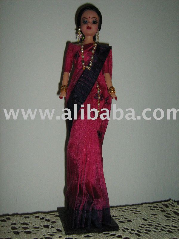 INDIAN SAREE DOLL