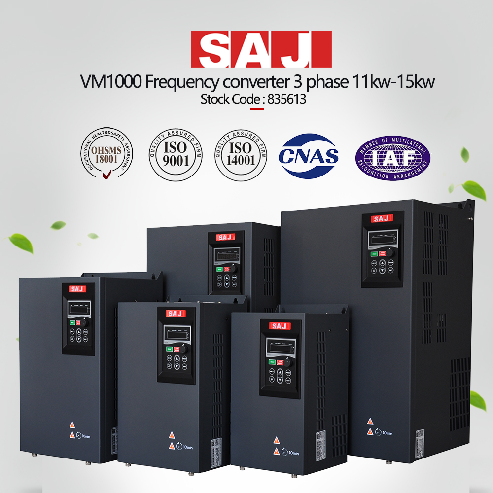 VM1000 Three phase frequency inverter, VFD, AC Drive 11kw, 15kw