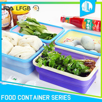 Cheap new silicone home portable food storage containers sets