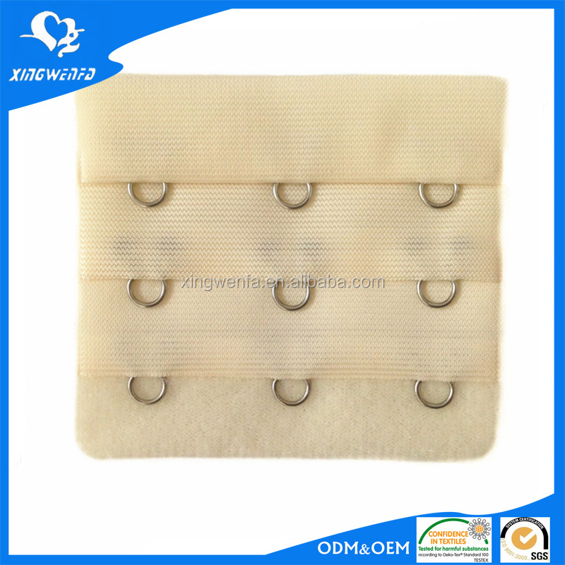Good quality and economical bra hook extender clasps 3*3