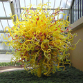 Contemporary Decorative hand made blowing art glass sculpture garden