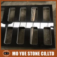 China alibaba high quality black granite quarry slabs