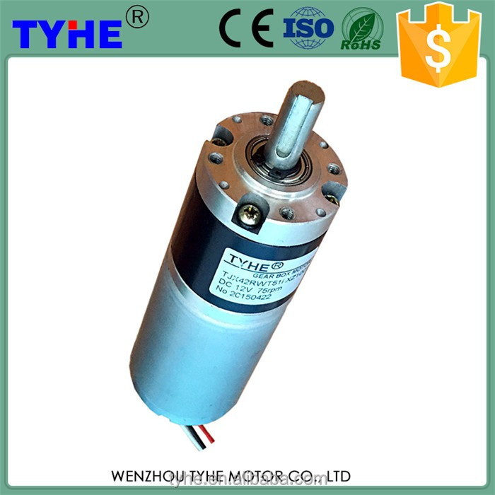 Highly efficient planetary motor dc