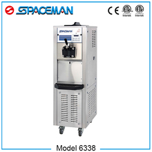 Soft serve production machines for hard ice cream machine