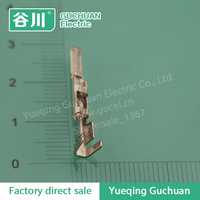 splice wire lug male insert pin terminal auto parts crimping terminal manufacturer DJ613-2*0.5B