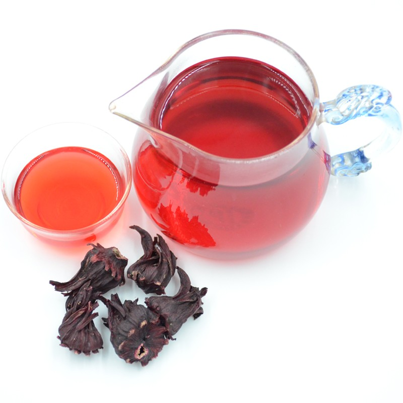 dried flowers chinese roselle tea fresh flower tea slimming tea