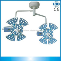 plastic surgery led light shadowless surgical light with double domes
