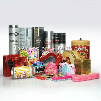 manufacturer custom made factory directly supply empty tin cans sale
