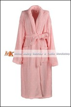 Sexy Women Night Printed Coral Fleece Robes
