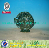 Chaozhou handmade fish ceramic ornament