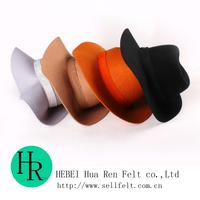100% wool felt hats