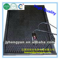 Outdoor snow melting heating mat