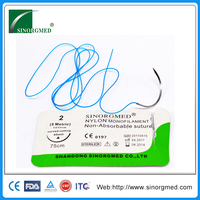 High quality cheap sterilized surgical nylon suture product line