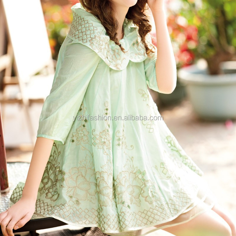 Dongguan Clothing Manufactures Wholesale Clothing Going Out Dress Mint Green Dress