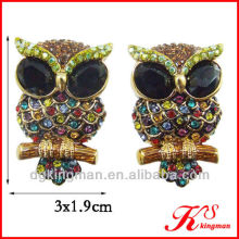Crystal Owl Fashion Jewelry 2013 Popular Earrings