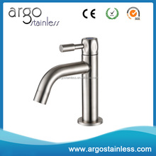 Classic deck mounted single handle cold water basin tap for lavatory