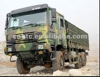 chinese sinotruk green howo 6x6 military trucks for sale