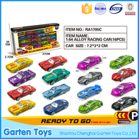 China construction die cast miniature car model toy for kids