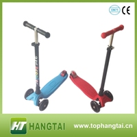 folding three wheels push child kick scooter for kids mini kick scooter