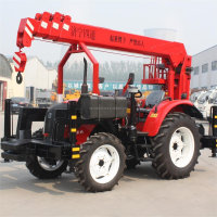 3 Telescopic Tricycle Mounted Crane,3 Ton Mini Hydraulic Crane Price