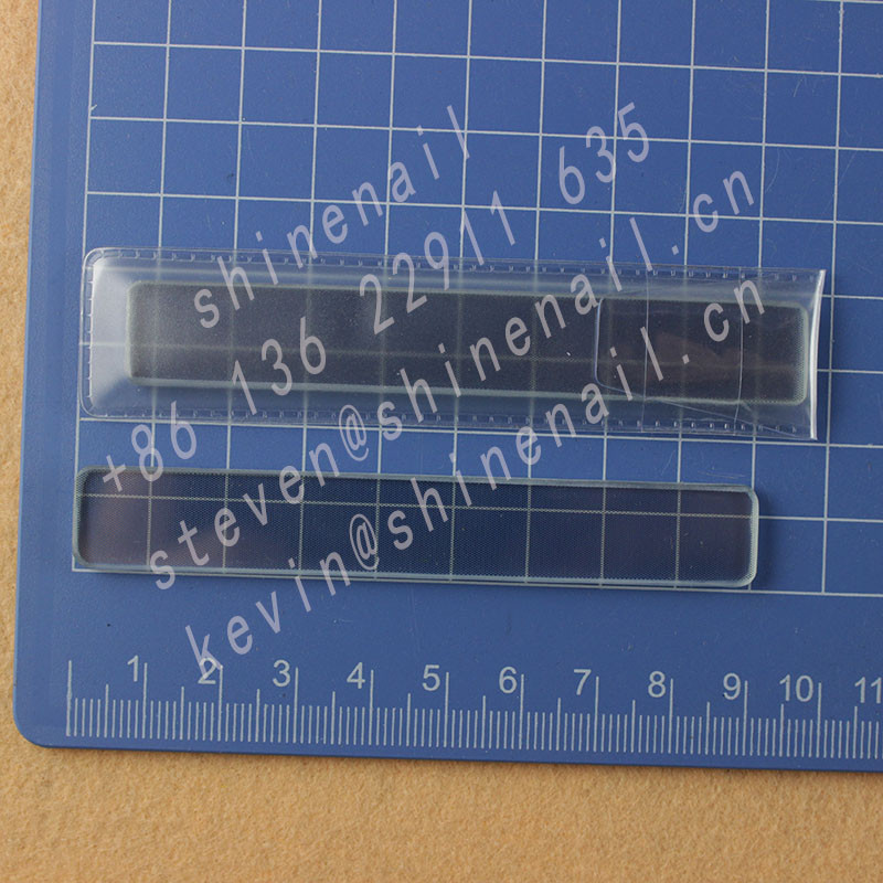 hot sell glass nail shiner with file and buffer