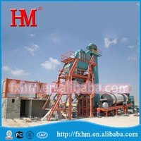 HMAP-MB800 Asphalt Mixing Plant Mobile/Suitable For Road Maintenance&Small-scale Pavement Construction