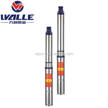 Electric Power and Standard 4 inch QJD Bore Well Submersible Pump