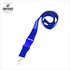 fashion cheap polyester lanyard neck strap