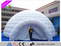 Large outdoor dome inflatable tent / inflatable lawn event tent