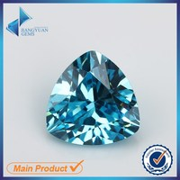 wuzhou jiangyuan gems cheap trillion blue cz