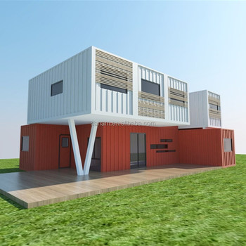 Prefab modular flat pack container house