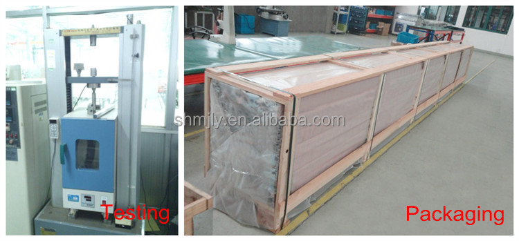 Wood Grain Finishing Aluminium Extrusion Profile Light Of The Structure Of The Frame Combination