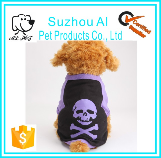 Hot Sale New Pet Supplies Popular Skull Casual Cotton Costumes Dog Apparel Pet Clothes