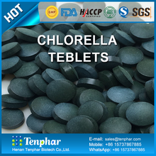 GMP HACCP Certified Manufacturing Morganic Chlorella Supplement Tablets
