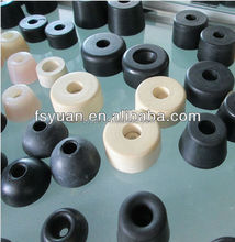"5/8"" 3/4"" 25/32"" 1"" 1 1/4"" 1 1/2"" inch anti slip shock rubber tips for chairs stop crawling rubber feet for ironing board"