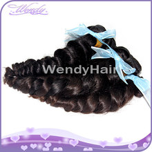 2014 New arrival Wholesale High quality Cheap 5A grade hair french Curl styles for indian curly frizzy hair french curl