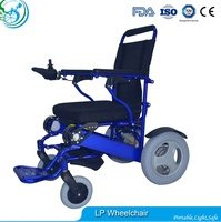 Elderly used tricycle electric wheelchair with soft seats