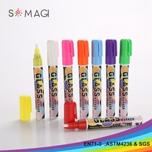 Promotional Colored Washable Ink Fabric Medium Textile Marker Pen