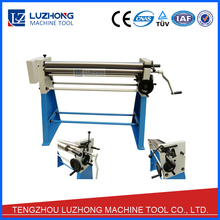 W01-2X1250 Manual Sheet Slip Roll Plate Rolling Machine
