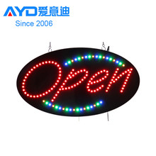 Hotcake Indoor Advertising Karate LED Open Board Program LED Display LED Window Sign