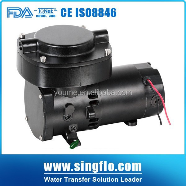 Singflo 68LPM 12v car air compressor air pump/electric vacuum pump 12v