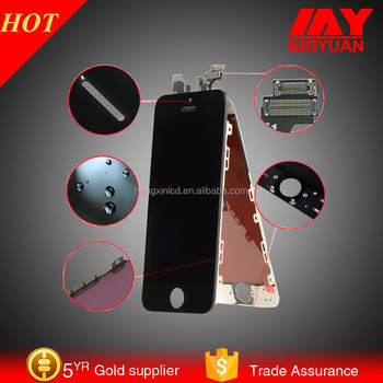 Lowest price original lcd touch screen for iphone 5s unlocked motherboard 16gb /32 gb