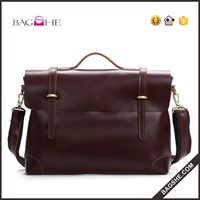 alibaba wholesale brand name men briefcase leather bag