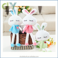 China manfacture best promotion items car decoration toy pink plush fruit rabbit doll fashion doll