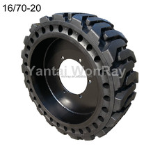 16 / 70-20 Skid Steer Solid Tyre, Wheel Assembled, Standard Type